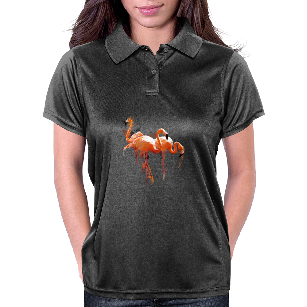 Flamingo Womens Polo