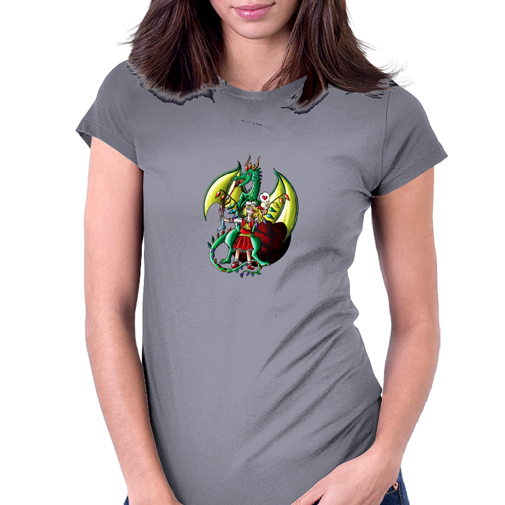 Flandre's pet Womens Fitted T-Shirt