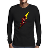 Flash comic character inspired design Mens Long Sleeve T-Shirt