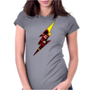 Flash comic character inspired design Womens Fitted T-Shirt