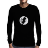 FLASH LOGO GRAY Mens Long Sleeve T-Shirt