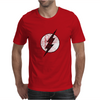 FLASH LOGO GRAY Mens T-Shirt