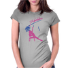 Flashdance 80s Movie Womens Fitted T-Shirt