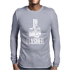 Flasher Camera Mens Long Sleeve T-Shirt