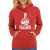 Flasher Camera Womens Hoodie