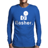Flasher Photography Mens Long Sleeve T-Shirt