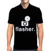 Flasher Photography Mens Polo