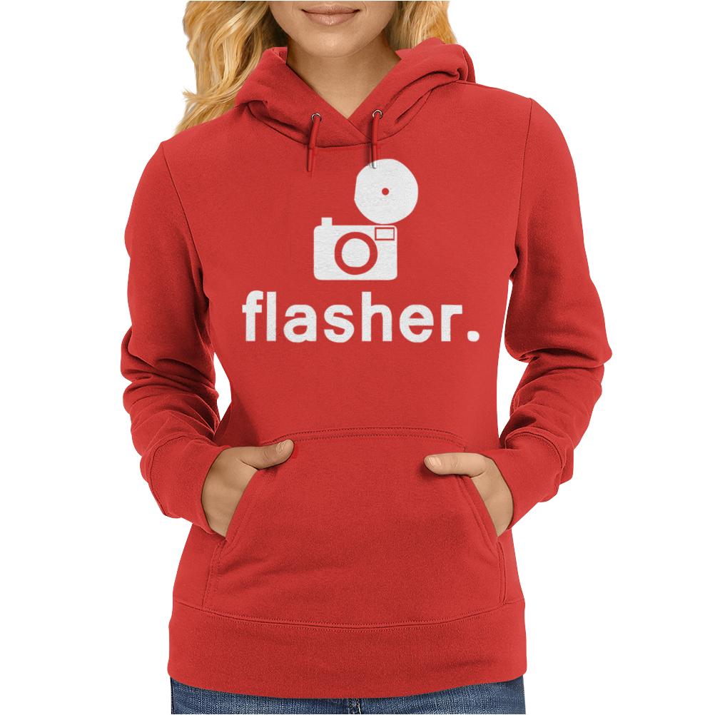 Flasher Photography Womens Hoodie