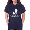 Flasher Photography Womens Polo