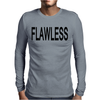 FLAWLESS BEYONCE Mens Long Sleeve T-Shirt