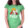 Flcl Haruhara Haruko Anime Japanese Womens Fitted T-Shirt