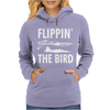 Flippin the Bird Womens Hoodie