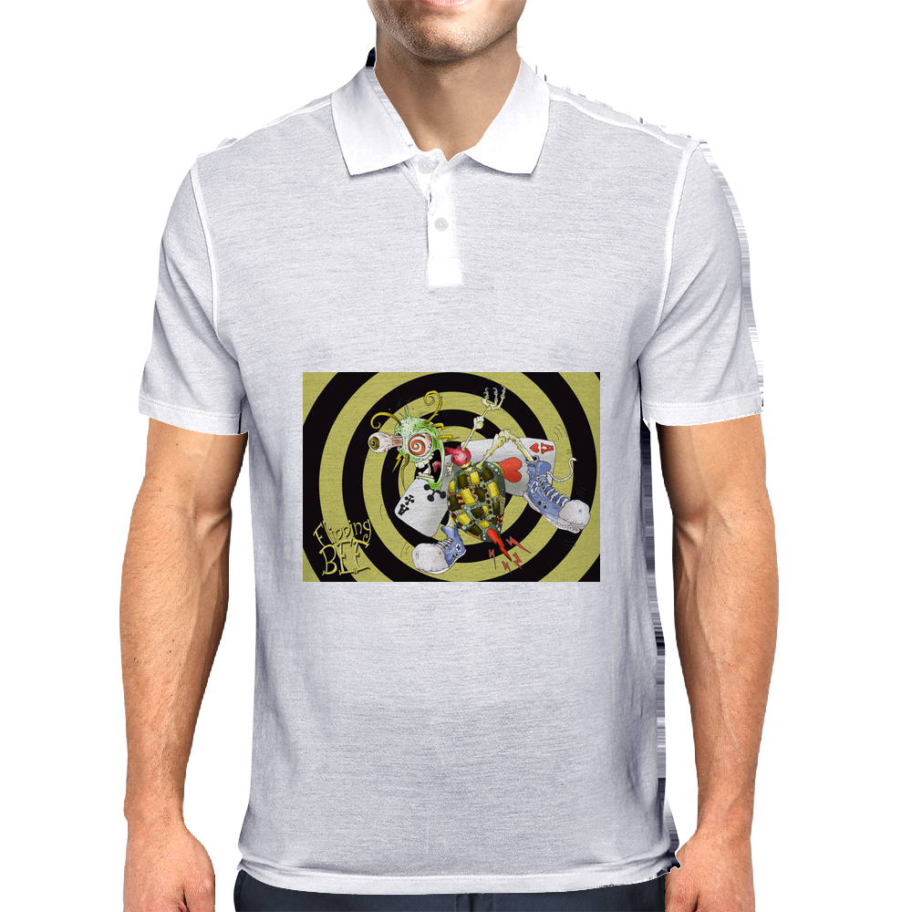 Flipping Bee Mens Polo