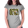 Flipping Bee Womens Fitted T-Shirt