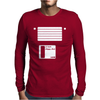 Floppy Disk Mens Long Sleeve T-Shirt