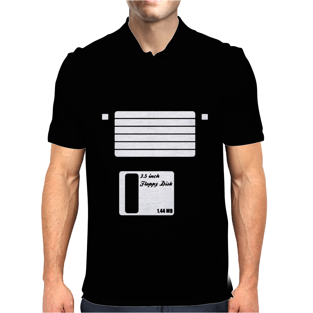 Floppy Disk Mens Polo