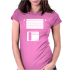Floppy Disk Womens Fitted T-Shirt