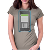 Floppy Phone Womens Fitted T-Shirt