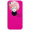 floral afro Phone Case