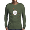 Floral Pattern #38 Mens Long Sleeve T-Shirt