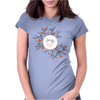 Floral Pattern #38 Womens Fitted T-Shirt