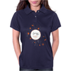 Floral Pattern #38 Womens Polo