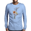 Floral Pattern #41 Mens Long Sleeve T-Shirt