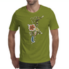 Floral Pattern #41 Mens T-Shirt
