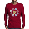 Floral Pattern #42 Mens Long Sleeve T-Shirt