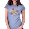 Floral Pattern #42 Womens Fitted T-Shirt