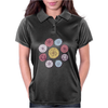 Floral Pattern #42 Womens Polo