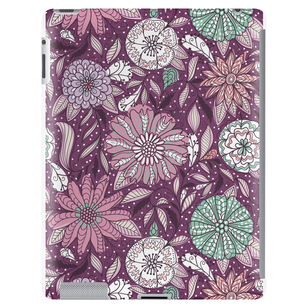 Floral Pattern #48 Tablet