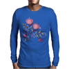 Floral Pattern #49 Mens Long Sleeve T-Shirt