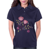 Floral Pattern #49 Womens Polo