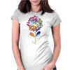 Floral Pattern #53 Womens Fitted T-Shirt
