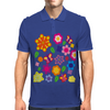 Flower art Mens Polo