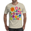 Flower art Mens T-Shirt