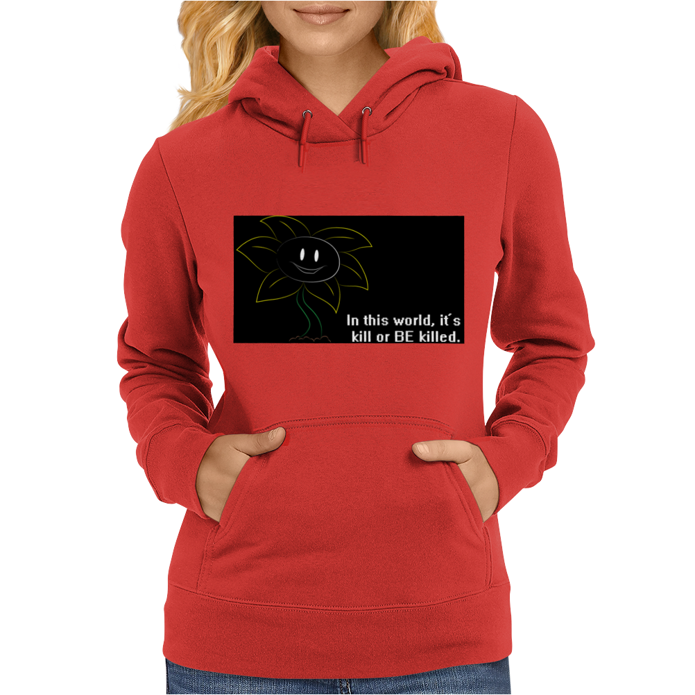 flower game Womens Hoodie