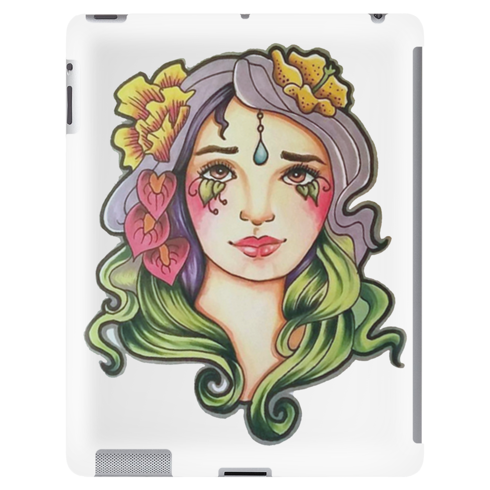 Flower Girl Tablet (vertical)