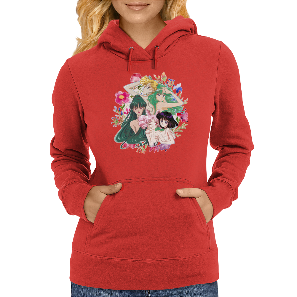 Flower Girls Womens Hoodie