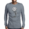 flower Mens Long Sleeve T-Shirt