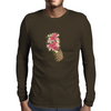 flower-pineapple summer art Mens Long Sleeve T-Shirt