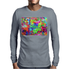 Flower Power Words Of Life Mens Long Sleeve T-Shirt