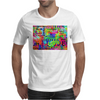 Flower Power Words Of Life Mens T-Shirt