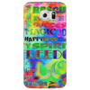 Flower Power Words Of Life Phone Case