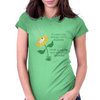 Flower Shower Womens Fitted T-Shirt