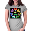 flower2 Womens Fitted T-Shirt