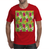 Flowers Abstract Mens T-Shirt