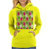 Flowers Abstract Womens Hoodie