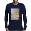 Flowers Mens Long Sleeve T-Shirt